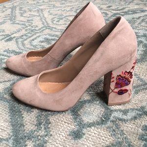 Restricted nude heels